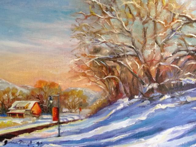 Sunny Winter Day